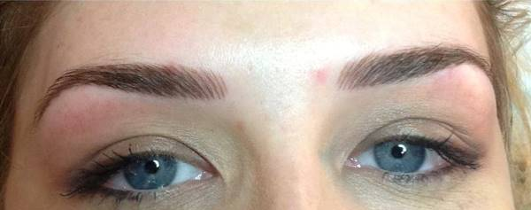 semi permanent eyebrow treatment