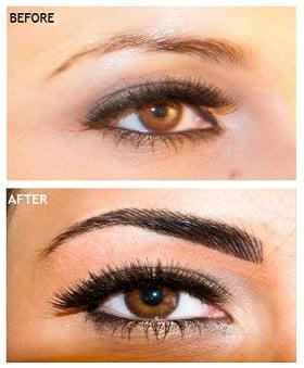 Risks of cheap semi permanent make up skinviva for Semi permanent tattoo eyebrows