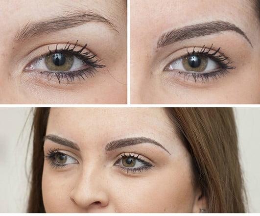 Semi permanent eyebrows make up skinviva manchester for Semi permanent tattoo eyebrows