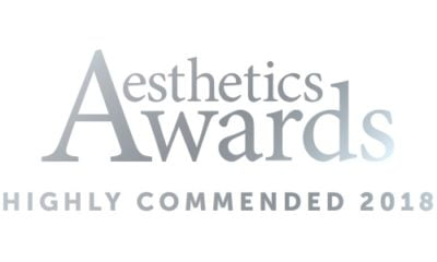 aesthetics awards skinviva highly commended