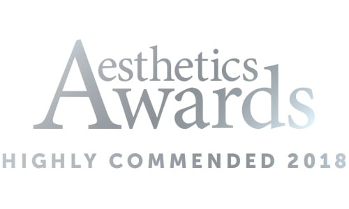 Aesthetics Awards Button